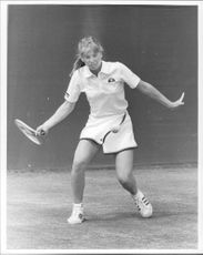 American tennis player Kathy Rinaldi
