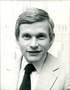 A photo showing Timothy Aitken, Chief Executive of TV-AM.