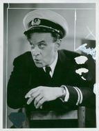 Actor Anders Henriksson in the film