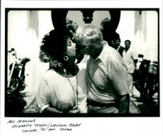 Elizabeth Taylor and Malcolm Forbes