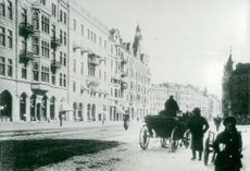 Company: Arvid Nordquist. In 1927 the shop was moved to the beautiful Venetian house at Birger Jarlsgatan 24