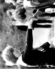 Princess Diana gets a kiss on her hand by 18-year-old Nicholas Hardy
