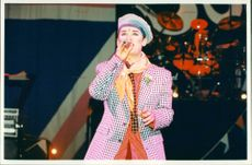 English musician Boy George