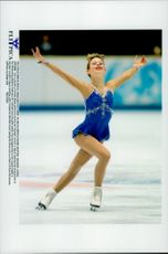Winter Olympics in Nagano 1998. Figure skating. Tara Lipinski