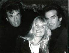 Claudia Schiffer and David Copperfield.