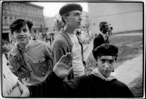 Young boys in Moscow