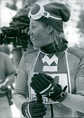 U.S. Sportswoman: Cindy Nelson  World Cup alpine ski racer from the United States.