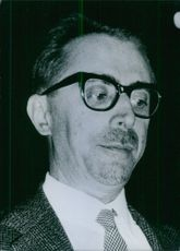 Giovanni Pieraccini - Italian Politician - October 19, 1964