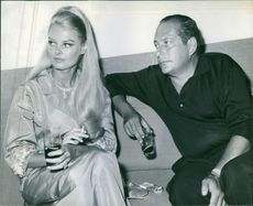 1968  Claire with husbamd Cesare Acguarone