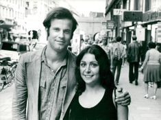 Mats Liljefors together with his wife Ani Gazarian
