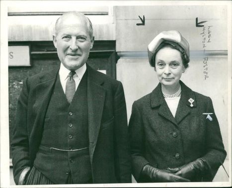 hylton fosSir harry hylton foster speaker of the house of commons with his wife.ter baroness and Husband.