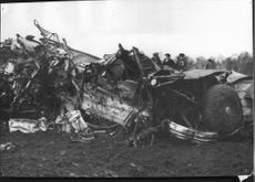 Four airmen were killed when the two planes of the Saab 18 T18 collided near Ljungbyhed