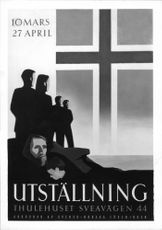 The Norwegian exhibition poster designed by Per Beckman. - 4 March 1943