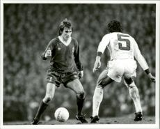 Kenny Dalglish, Liverpool vs CSKA Sofia - European Cup final