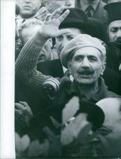 Georgios Grivas stands with the people, 1959.