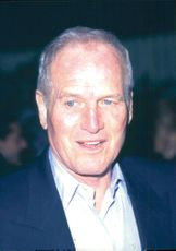 Actor Paul Newman at a fashion show on a charity gala
