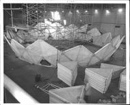 Large radar dome is being built for radio station