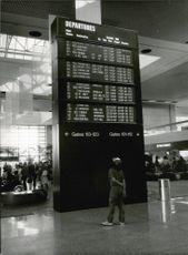 Los Angeles Airport, LAX.