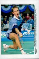 Peter Gade Christensen (Denmark) won over Sun Jun (China) in Japan Open Badminton Tournament