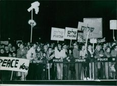 Israel's Demo For Peace 1978