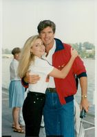 David Hasselhoff with his wife Pamela Bach
