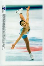 Winter Olympics in Nagano 1998. Figure skating. Michelle Kwan