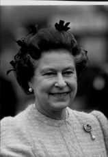 Portrait of Queen Elizabeth II