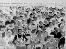The start of the Stadsloppet, organized by the Stockholm newspaper