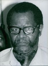Portrait of Oliver Reginald Tambo. 1979.