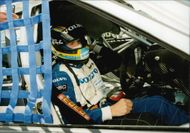 Rickard Rydell is preparing for the Silverstone BTCC race.