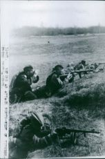 Continuation War 1941-44 Russians in Finland during the battle with Finnish Karelians.