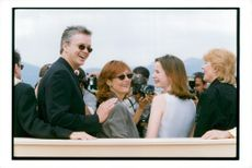 Tim Robbins, actor with his wife Susan Sarandon, actress at the Cannes Film Festival