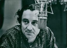 Close up of French film director and screenwriter Louis Malle