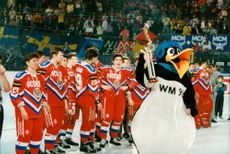 Sports: Ice Hockey World Cup 1993 - Russia wins gold