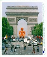 Football World Cup in France 1998. World Cup Statue