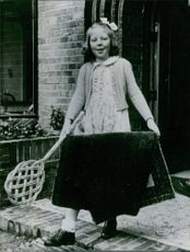 Princess Beatrix of the Netherlands during her childhood days.