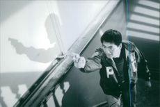 A photo of Chow Yun-fat from a scene from the 1999 film The Corruptor.