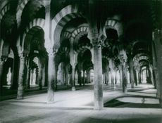 An interior of a structure in Seville, Spain.
