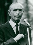 Britain's Prime Minister Sir Alec Douglas-Home