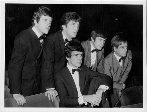 "The British pop group ""The Dave Clark Five""."