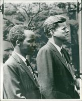 John F. Kennedy and president nyerere.