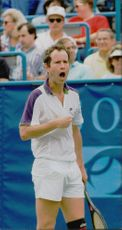 Tennis player John McEnroe