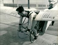 Pedal Powered Aircraft:Mr Wimpenny