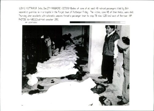 Bodies of some railroad passengers killed.