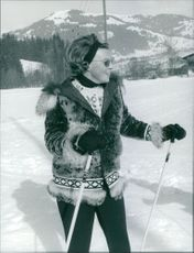 Princess Beatrix of the Netherlands enjoys skiing.