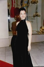 Actress Fran Drescher at Revlon / UCLA Women's Cancer Research Program Charity Gala Fire & Ice Ball at Barney's New York in Beverly Hills