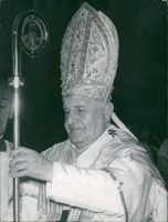 Pope John XXIII Sovereign of the State of the Vatican City.