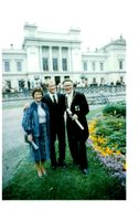 Ingvar Kamprad together with his wife Margareta