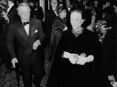 The Duke and Duchess of Windsor in an event