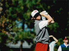 Golf player Helen Alfredsson under JC Penny Classic 1995